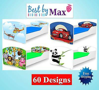 Kids Toddler Children Wooden Bed Including Mattress + Free Delivery!!!