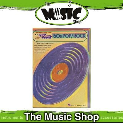 New EZ Play #210 '60s Pop Rock Hits Piano Music Book -  Easy Play E-Z - 1960s