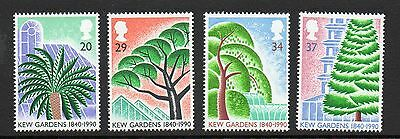 GB 1990 Kew Gardens 150th Anniv unmounted mint set stamps