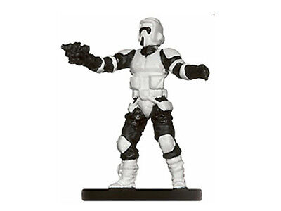 Star Wars Miniatures C Scout Trooper 19/40 Ie