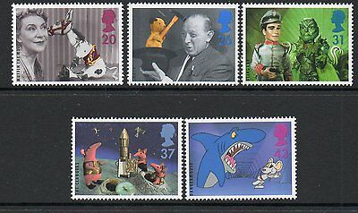 GB 1996 Childrens Television 50th anniversary unmounted mint set stamps