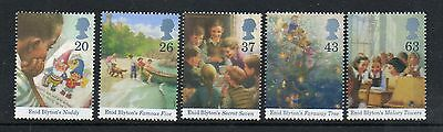 GB 1997 Enid Blyton Centenary unmounted mint set stamps