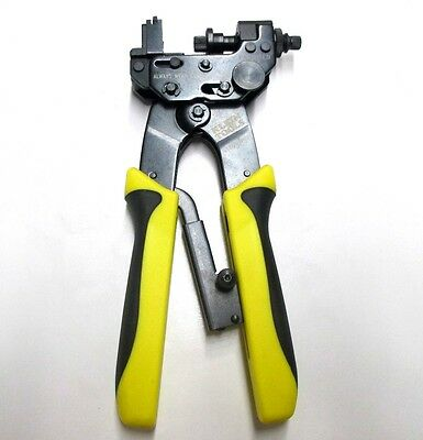 Klein Tools VDV211-007 Vertical Multi-Connector Compression Crimper