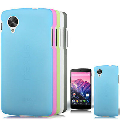 2014 New Fashion Matte Back Black Flexible TPU Case for LG Nexus 5 - Ultra Thin