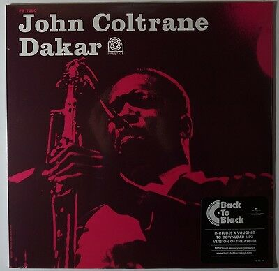John Coltrane - Dakar LP/Download remastered limited 180g vinyl NEU/OVP/SEALED