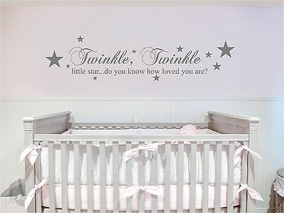 twinkle twinkle little star we made a wish and here you are wall