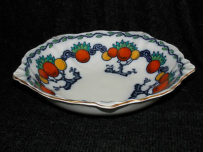 Losol Ware Fruit Bowl Chandos Keeling & Co Staffordshire Pottery 4365 10+inch D