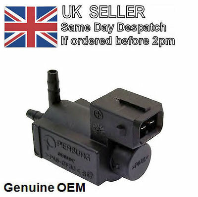 Exhaust control charge pressure valve / Vacuum Control BMW 1, 3, 5, 7, X3, X5