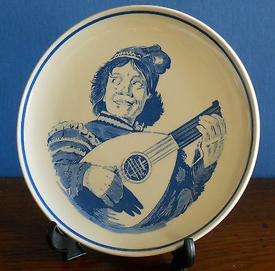 A blue and white Royal G Delfts Blauw Collectors plate