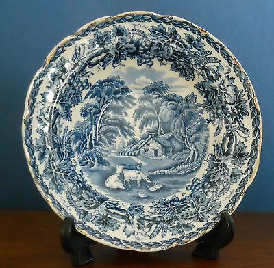 An Art Deco Booths Silicon China English Scenery Dessert Bowl