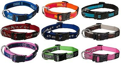 Rogz Dog Collars, Fabric Standard Dog Collars