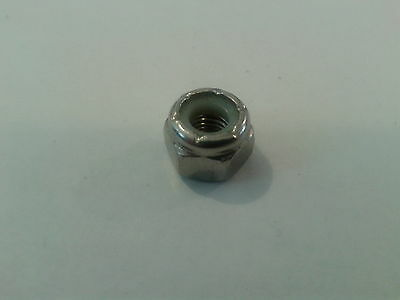 1/4 UNF A2 STAINLESS STEEL NYLOC NUT x 10