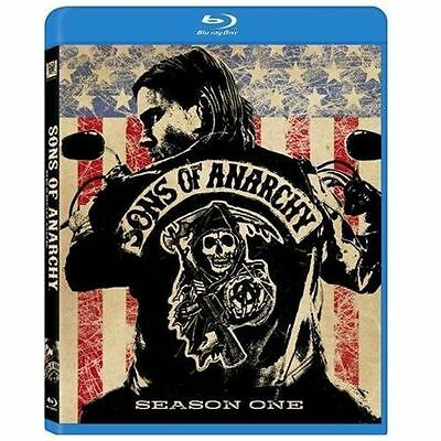 NEW! Sons of Anarchy - Season 1 One (Blu-ray Disc, 2009, 3-Disc Set)