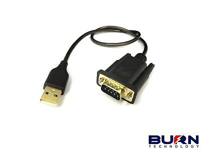 USB to Serial Adapter High Quality FTDI CHIPSET RS232 BT232 WIN 7 8 & 10 DB9