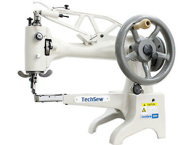 TechSew 2900 Leather Industrial Sewing Machine - Leather Patcher