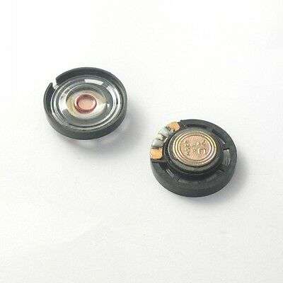 10pcs 0.25W 8Ohm Speaker External Magnetic Speaker Dia=27mm for Toy Aduio DIY
