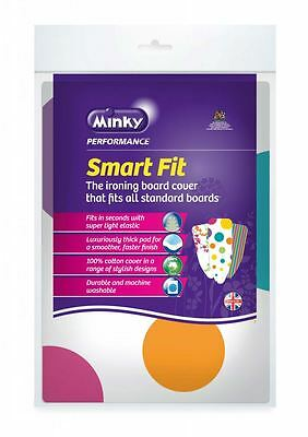 Minky Smartfit Replacement Ironing Board Cover One Size Fits All - Assorted
