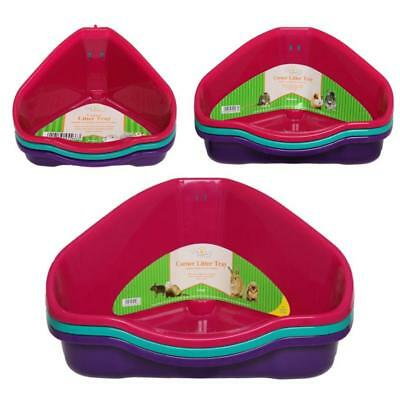 Walter Harrisons Small Animal Cat Rabbit Guinea Pig Hamster Corner Litter Trays
