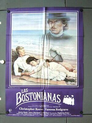 eh50 THE BOSTONIANS CHRISTOPHER REEVE IVORY GREAT SPAIN