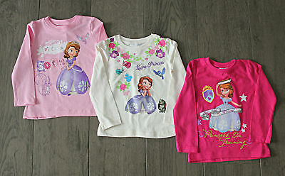 Disney Sofia die Erste Langarmshirt Gr.98-116 Sofia the First T-Shirt NEU !