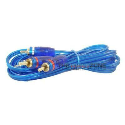 CA-17GM High Quality 17 ft RCA Cable Wire for Car Amplifier Stereo OR Home Audio