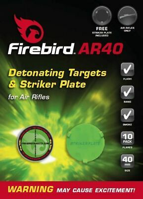 Firebird Reactive Exploding Targets - air flash 40mm airgun shooting rifle