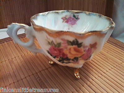 Original Napco China Hand Painted Teacup