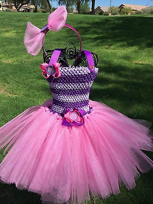 Doc McStuffins Tutu Dress Costume Size Newborn to 5T