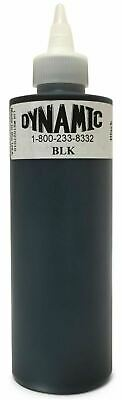 Dynamic Black Tattoo Ink Lining Shading Tribal Liner Shader USA - 1oz or 8oz