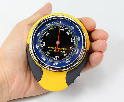 Digital Altimeter Barometer Compass Thermometer 4in1 for Outdoor Sports Hiking