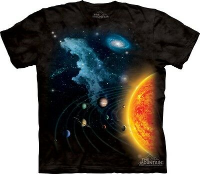 Solar System Kids T-Shirt from The Mountain. Space Boy Girl Child Sizes NEW