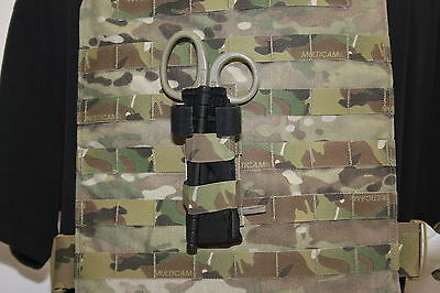 MULTICAM FAST ACCESS ELASTIC TOURNIQUET AND SHEAR CARRIER POUCH MADE IN USA