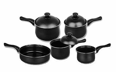 Pendeford Value Plus Non Stick Sauce Pan Collection Set of 5 With Lids