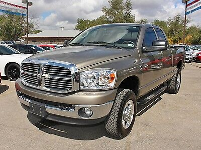 Dodge : Ram 2500 4WD Quad Cab Lone Star 4x4 Leather CD Bed Liner Nerf Bars Alloy Wheels Power Seat Cruise
