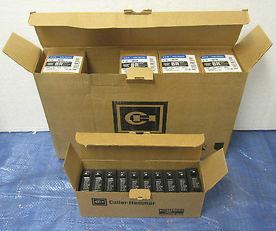 Case (Qty 50) of Cutler Hammer BR120 Single Pole 120/240 Volt 20 Amp Breakers
