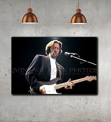 Eric Clapton 20x30 inch Fine Art Gallery Canvas Print Pro Photo Framed Gilcee 39