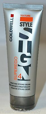 GOLDWELL Style Sign Texture SUPEREGO 4x 75ml (17,66€/100ml) Styling Creme !TOP!