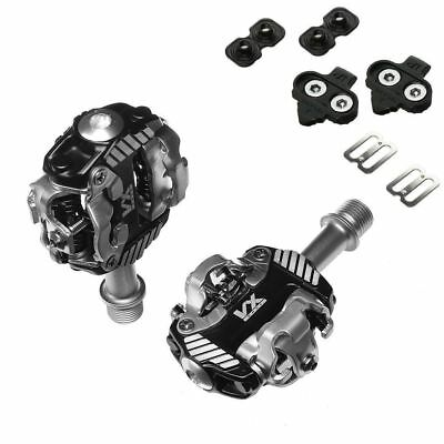 VP VX Race Mountain Bike Shimano SPD Compatible Pedals with Cleats