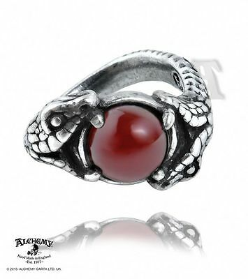 Alchemy Gothic R193 Viperstone Ring