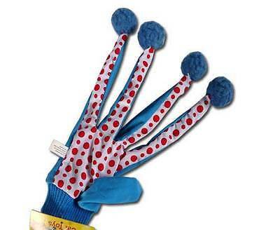 Kitty Mitten Interactive Catnip Glove Fun Cat Toys With Bells and Pom-Poms