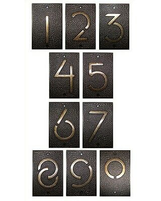 Frank Lloyd Wright EXHIBITION FONT Architectural HOUSE ADDRESS NUMBER Home Decor