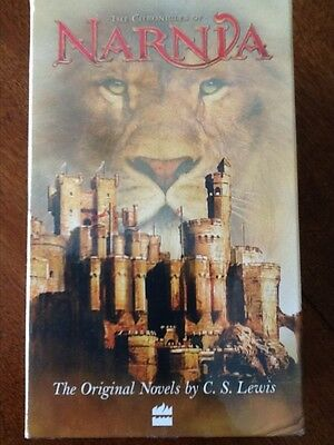 The Chronicles of NARNIA book set,  7 Book Series from Walt Disney pictures