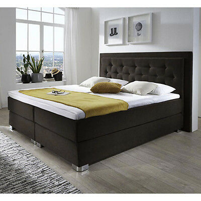 bugatti viii boxspringbett hotelbett amerikanisches bett 200x200 cm schwarz eur. Black Bedroom Furniture Sets. Home Design Ideas