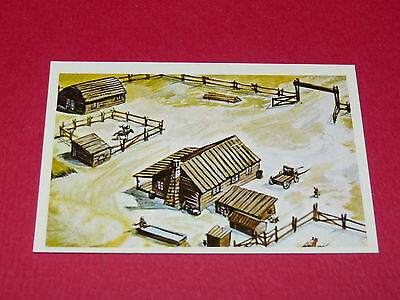 N°185 Le Ranch Conquete De L'ouest Williams 1972 Panini Far West Western
