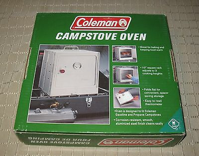 Coleman Campstove Oven with Box 2003