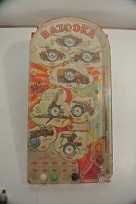 Vintage Mar Toys Military Pin Ball Game