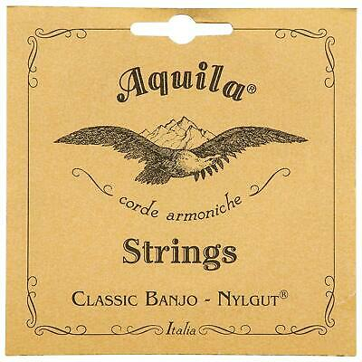Aquila 1B Classical Banjo Strings - Medium Tension 5-String Banjo String Set NEW