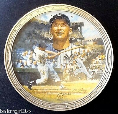 1996 Bradford Exchange Collector Plate Bronx Bomber 1st Issue