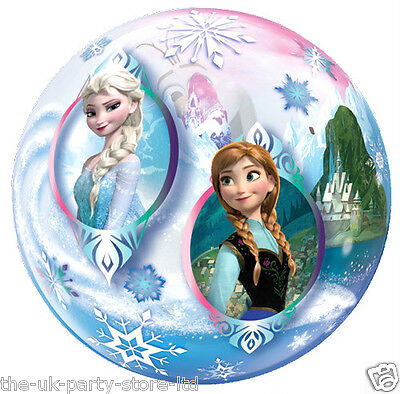 Disney FROZEN Stretchy BUBBLE BALLOON 56CM - Floats for 2-4 weeks Qualatex