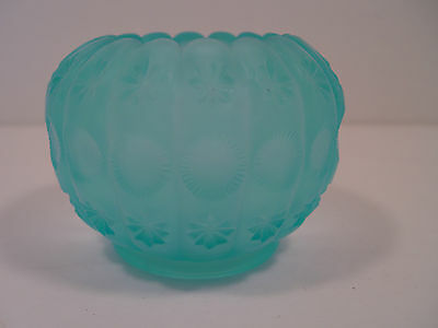 Blue Glass LG Wright Vase Frosted Blue - FREE SHIPPING!